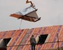 Prefab dakkapel kantoorpand Lemelerveld met zink