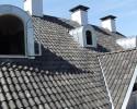 dakpannen luxe villa met zinken dakkapellen